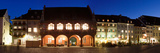 Historic Buildings at the Market Square, Freiburg Im Breisgau, Baden-Wurttemberg, Germany Photographic Print by  Panoramic Images