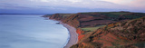 High Angle View of a Coastline, Babbacombe, Torquay, North Devon, Devon, England Photographic Print by Panoramic Images 