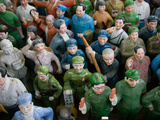 Antique Store Display of Chairman Mao's Communist Era Souvenir Statues, Hollywood Road, Central ... Photographic Print