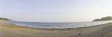 Beach at Dusk, Yuigahama Beach, Kamakura, Kanagawa Prefecture, Japan Photographic Print by  Panoramic Images