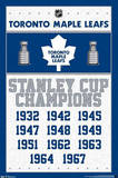 Toronto Maple Leafs - Stanley Cup Champions Prints