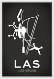LAS Las Vegas Airport Posters