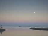 Sea at Dawn, Tamarin Bay, Tamarin, Black River District, Mauritius Photographic Print by Green Light Collection
