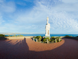 Monument on the Coast, Cabrillo National Monument, Point Loma, San Diego, San Diego Bay, San Die... Photographic Print by  Panoramic Images