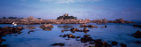 Channel of Ploumanac'H Harbour with Costaeres Castle in the Background, Cote De Granit Rose, Plo... Photographic Print by  Panoramic Images