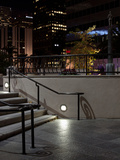 Steps of a Building at Night, US Bank Tower, Los Angeles, California, USA Photographic Print