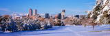 Denver City in Winter, Colorado, USA Photographic Print by  Panoramic Images