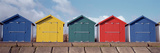 Beach Huts on the Beach, Dawlish Warren, Dawlish, Teignbridge, Devon, England Photographic Print by  Panoramic Images