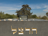 Theodor Herzl's Tomb at Mount Herzl Cemetery, Jerusalem, Israel Photographic Print