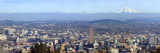 Buildings in a City Viewed from Pittock Mansion, Portland, Multnomah County, Oregon, USA 2010 Photographic Print by  Panoramic Images