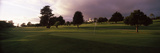 Trees in a Golf Course, Montecito Country Club, Santa Barbara, California, USA Photographic Print by  Panoramic Images