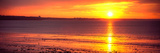 Sunrise over the Beach, Cap Coz, Fouesnant, Finistere, Brittany, France Photographic Print by  Panoramic Images