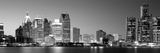 City at the Waterfront, Lake Erie, Detroit, Wayne County, Michigan, USA Photographic Print by  Panoramic Images