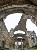 Ruined Dome of Hadrian's Villa, Tivoli, Lazio, Italy Photographic Print