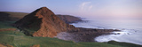 Coastline, St. Catherines Tor, Spekes Mill Mouth, North Devon, Devon, England Photographic Print by  Panoramic Images