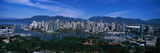 Aerial View of a Cityscape, Vancouver, British Columbia, Canada Photographic Print by  Panoramic Images