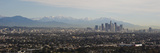 High Angle View of a City, Los Angeles, California, USA Photographic Print by  Panoramic Images