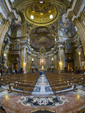 Interiors of the Church of the Gesu, Rome, Lazio, Italy Photographic Print