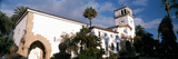 Low Angle View of a Courthouse, Santa Barbara, California, USA Photographic Print by  Panoramic Images