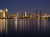 Buildings at the Waterfront, San Diego, California, USA Photographic Print