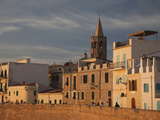 Buildings in a City, Bastioni San Marco, Alghero, Sassari, Sardinia, Italy Photographic Print by Green Light Collection