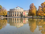 Entertainment Building at the Waterfront, Opera House, Stuttgart, Baden-Wurttemberg, Germany Photographic Print by  Panoramic Images