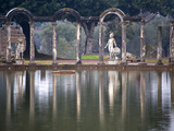 Reflecting Pool in Hadrian&#39;s Villa, Tivoli, Lazio, Italy Photographic Print