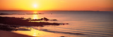 Sunrise over the Beach, Beg Meil, Finistere, Brittany, France Photographic Print by  Panoramic Images
