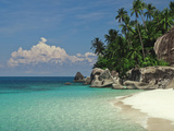 Rocks on the Beach, Pulau Dayang Beach, Malaysia Photographic Print by  Green Light Collection