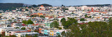 High Angle View of Colorful Houses in a City, Richmond District, Laurel Heights, San Francisco, ... Photographic Print by  Panoramic Images