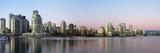 Skyscrapers at the Waterfront, Yaletown, Vancouver Island, British Columbia, Canada Photographic Print by  Panoramic Images