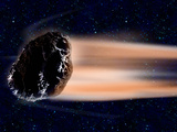 Meteor Coming at Earth Photographic Print by  Panoramic Images