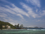 Resort at the Coast, Berjaya Mahe Beach Resort, Port Glaud, Mahe Island, Seychelles Photographic Print by Green Light Collection