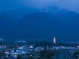 First Tower of Chongsheng Temple with Zhonghe Shan in the Background, Old Town, Dali, Yunnan Pro... Photographic Print