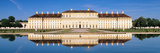 Palace Reflecting in Water, New Palace Schleissheim, Oberschleissheim, Bavaria, Germany Photographic Print by  Panoramic Images