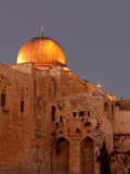 Al-Aqsa Mosque with the Dome of the Rock in the Background, Jerusalem, Israel Photographic Print