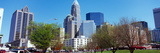 Skyscrapers in a City, Charlotte, Mecklenburg County, North Carolina, USA Photographic Print by  Panoramic Images