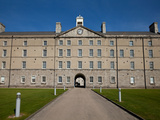 Facade and Entrance to the Museum at Collin's Barracks, Dublin City, Ireland Photographic Print