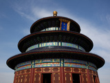 Low Angle View of a Temple, Temple of Heaven, Beijing, China Photographic Print