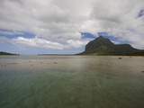 Clouds over the Sea, Le Morne Brabant, Mauritius Photographic Print by Green Light Collection