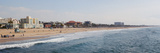 Surf on the Beach, Santa Monica Beach, Santa Monica, Los Angeles County, California, USA Photographic Print by Panoramic Images