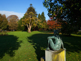 Modern Sculpture on the Campus,University College Cork (UCC),Cork City, Ireland Photographic Print