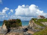 The Island on Towan Beach, Newquay, Cornwall, England Photographic Print