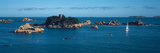 Castle at the Coast, Costaeres Castle, Cote De Granit Rose, Ploumanach, Perros-Guirec, Cotes-D'A... Photographic Print by Panoramic Images