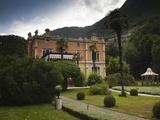 Facade of a Building, Villa Feltrinelli, Gargnano, Lake Garda, Lombardy, Italy Photographic Print by Green Light Collection