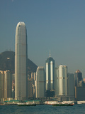 Buildings at the Waterfront, Two International Finance Centre, Central District, Hong Kong Islan... Photographic Print