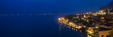 Town at the Waterfront, Limone Sul Garda, Lake Garda, Lombardy, Italy Photographic Print by  Panoramic Images