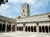 Cloister of St. Trophime, Church of St. Trophime, Arles, Bouches-Du-Rhone, Provence-Alpes-Cote D... Photographic Print