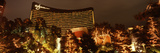 Hotel Lit Up at Night, Wynn Las Vegas, the Strip, Las Vegas, Nevada, USA Photographic Print by  Panoramic Images