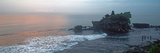 Temple at Sunrise, Tanah Lot Temple, Tanah Lot, Bali, Indonesia Photographic Print by  Panoramic Images